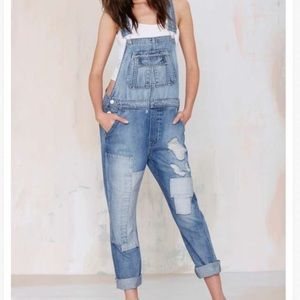 Nasty Gal Get over it dungarees